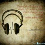 World Music Day Status