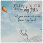 You May Be Gone From My Sight Quote Author Twitter