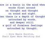 Zora Neale Hurston Their Eyes Were Watching God Quotes Twitter